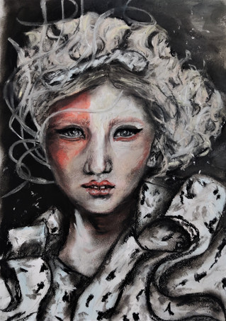 Freya by Luna Smith - norse mythology.jpg