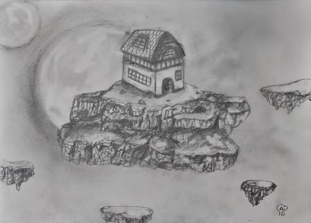 Floating fantasy island by Luna Smith - sketch.jpg