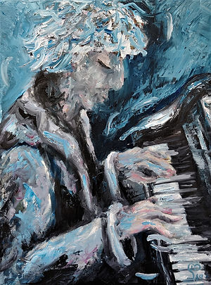 Pianist by Luna Smith - the best art in the world