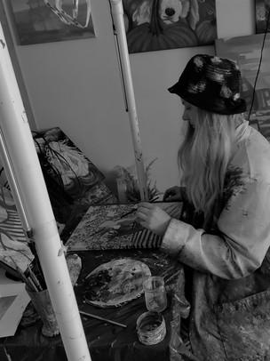 Women Nature in Studio