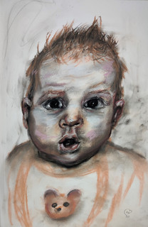 Baby sketch by Luna Smith