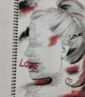 Love portrait by Luna Smith