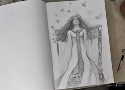 Viking Goddess by Luna Smith