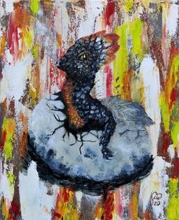 Hatching Fire Dragon