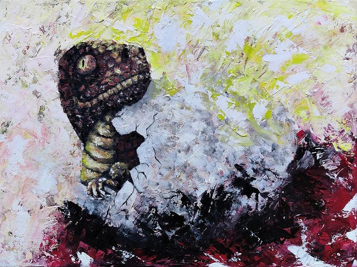 Hatching Dinosaur