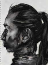 Male profile by Luna Smith