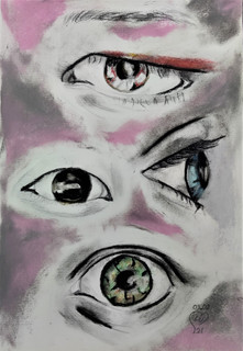 Eyes Study by Luna Smith