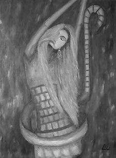 Dance with the Wind by Luna Smith aka Lu, ART IS MAGIC
