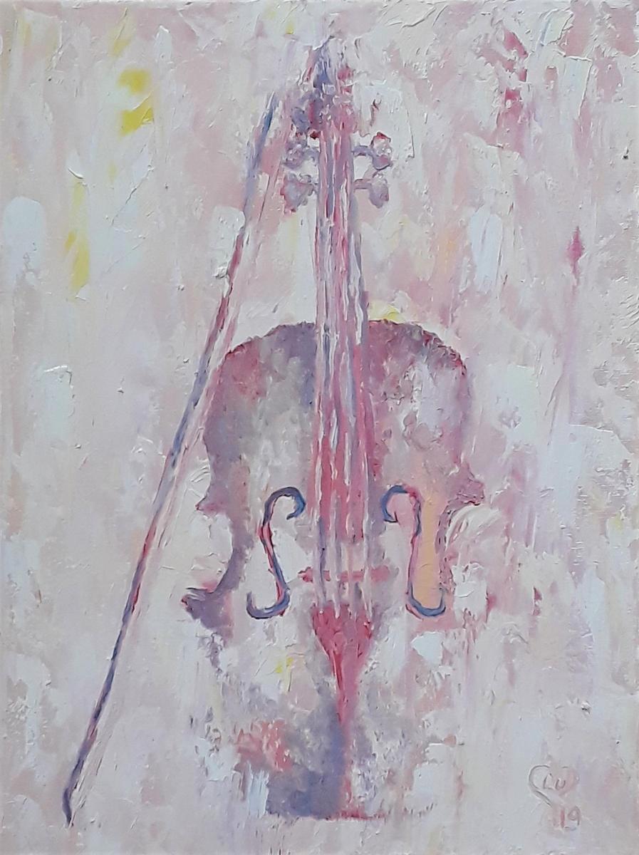Pastel Violin
