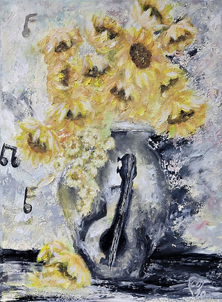 Sunflowers by Luna Smith - the best art in the world
