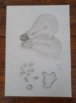 Bulb & Puzzle by Luna Smith