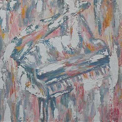 Piano by Luna Smith - the best art in the world