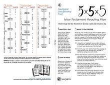 Navigators 52 week bible Reading plan102