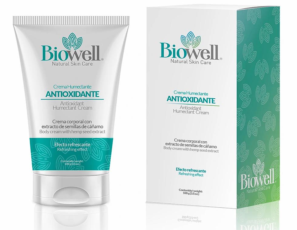 Crema humectante y relajante Biowell