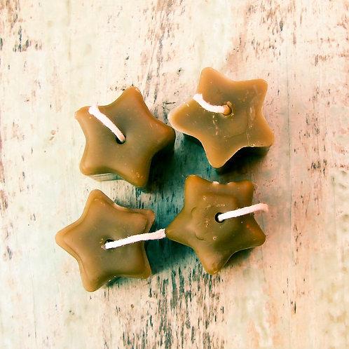 Velinhas de estrelinhas - pacote com 4