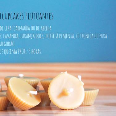 Velas Minicupcakes