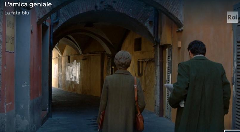 Un frame dell'ultima stagione della serie L'amica Geniale.