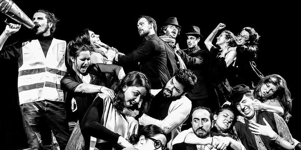 SHAKESPEARE IN LUMIERE     I saggi finali della Formazione Attoriale de La Ribalta Teatro