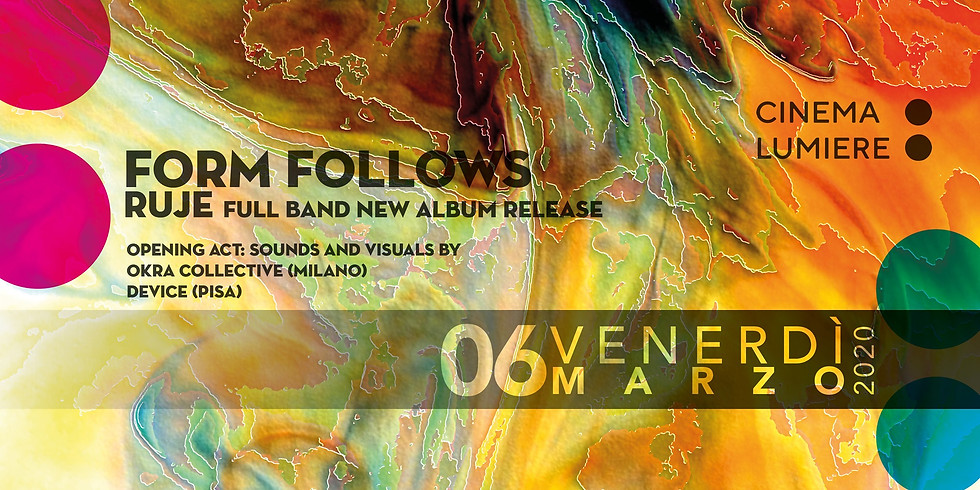 Form Follows new album release & guests