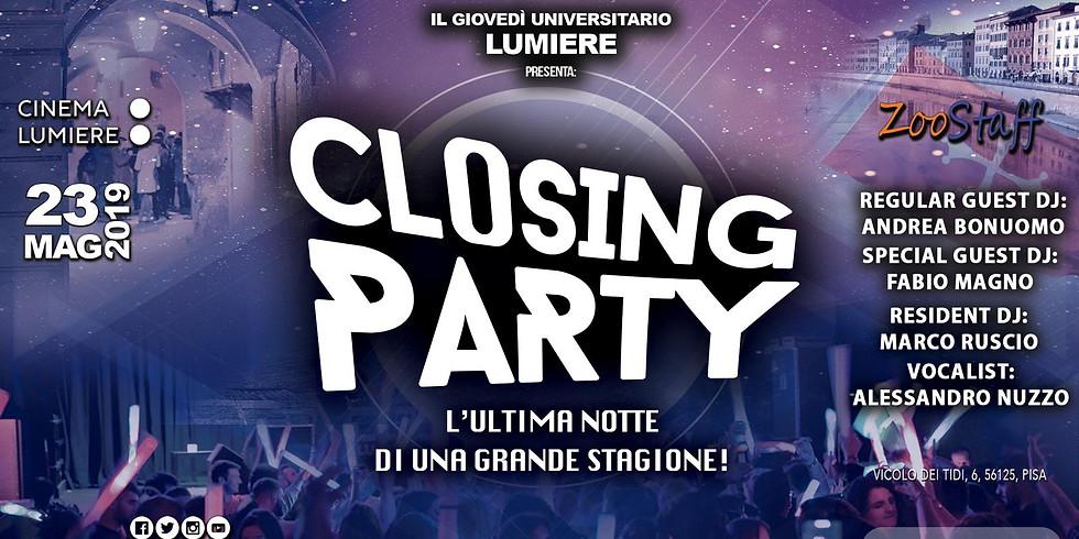 Il giovedì universitario: Closing Party