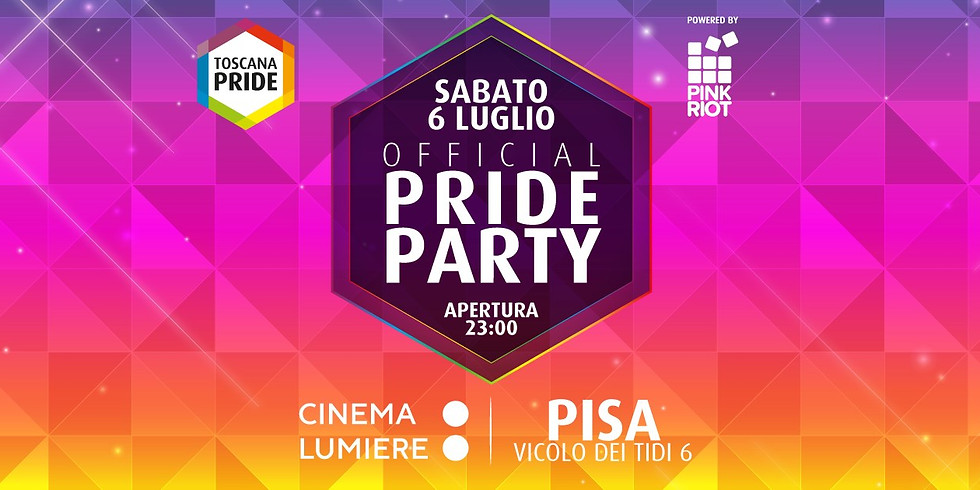 Toscana Pride Official Party