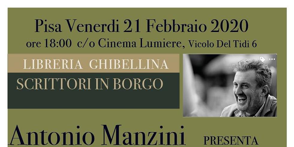 Antonio Manzini torna a Pisa con Ah l'amore l'amore
