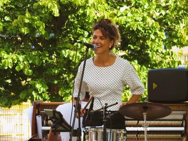 concert aux terasses éphémères, Louviers, 2019