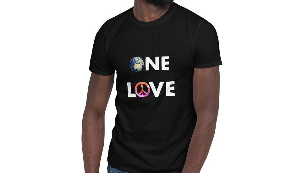 One Love Short-Sleeve Unisex T-Shirt