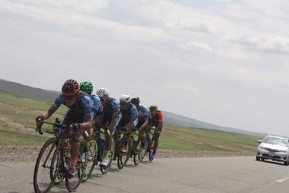 bilguun won the team time trial and 3rd road race  (mongolian championship).