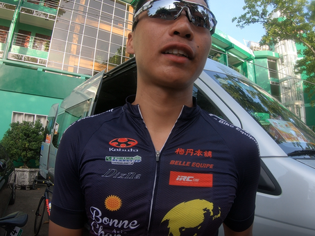 comment of riders 6th stage ve nong thon