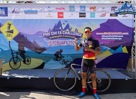 Bilguunjargal won the phu chi pha challenge on 15th feb 2020.