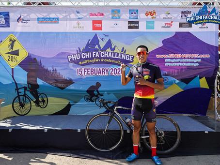 Bilguunjargal won the phu chi pha challenge on 15th feb 2020.