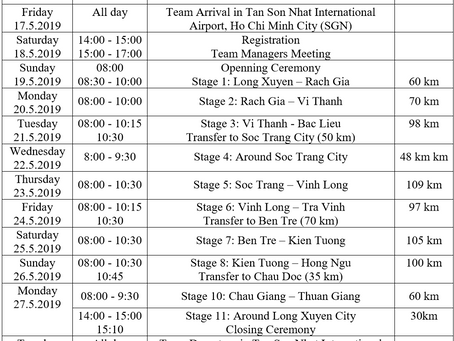 recruit -23 riders for  tour ve nong thon (vietnam)