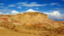 Tsagaan Suvarga, montagne de feu desert