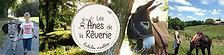 les anes de la reverie saintes hébergement balade nature chambres d'hôtes les cuves