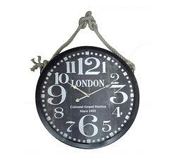 pendule-imprime-london-corde-d52-cm-noir