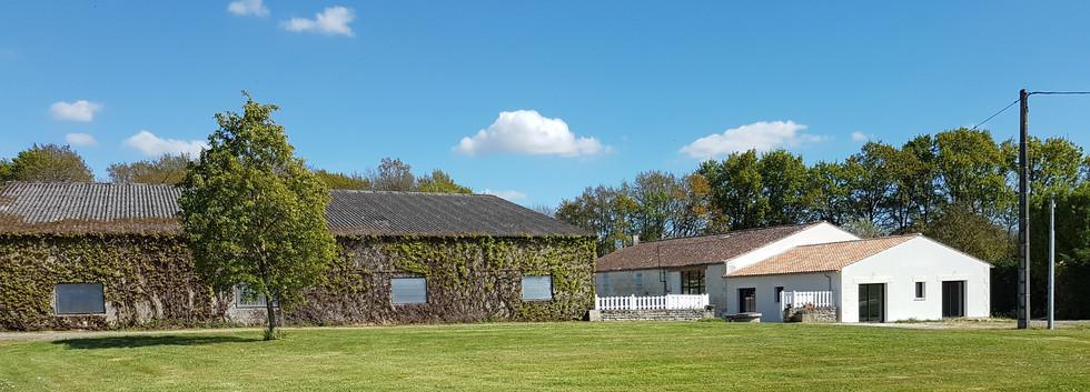 ancien domaine viticole et agricole Saintes