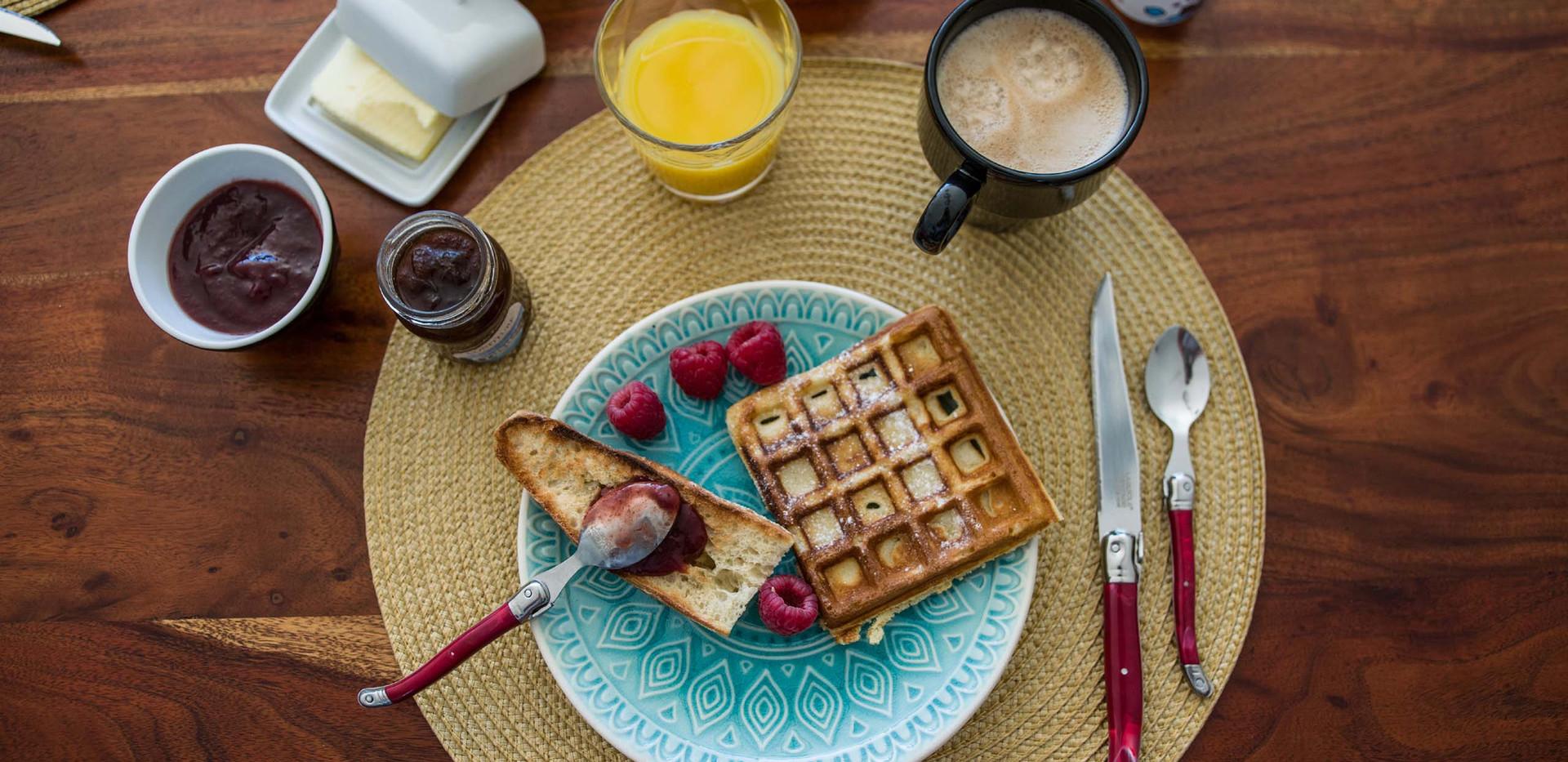 petit déjeuner de qualité à Saintes