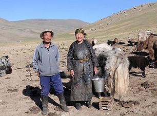 Immersion en famille nomade en mongolie.