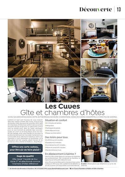 Ici Magazine Les Cuves Chambres d'hôtes