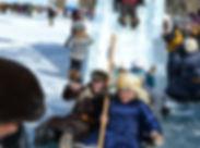 vive le nouvel an en Mongolie avec le festival des glaces agence de voyage francophone Esprit Mongolie