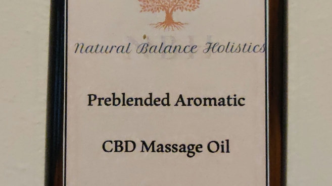 CBD massage oil, Focus 240ml