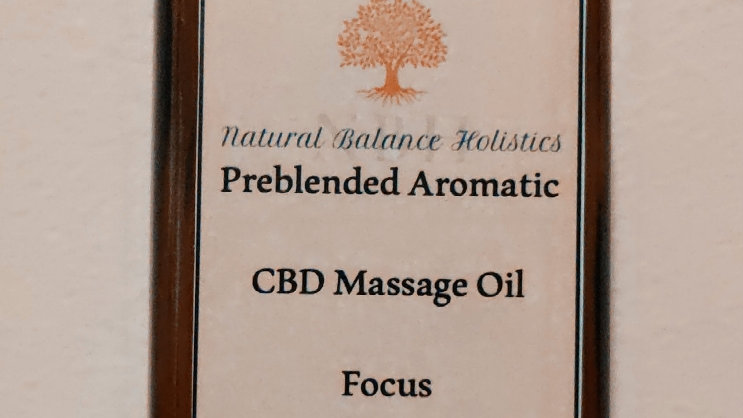 CBD massage oil, Focus 120ml