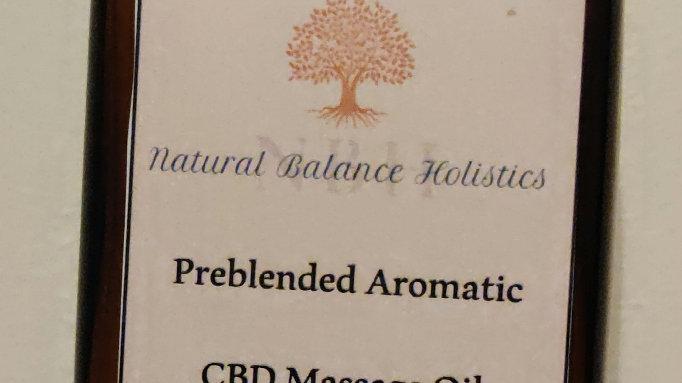 CBD massage oil, muscles 240ml