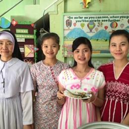 Celebration of diversity at Pyinya Sanyae (PSIE) Union Day.
