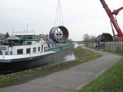 Direct loading on barge