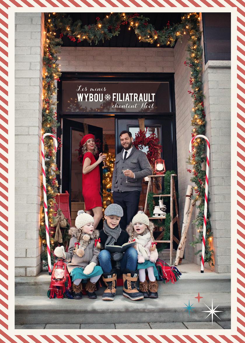 Les minis Wybou-Filiatrault chantent Noël