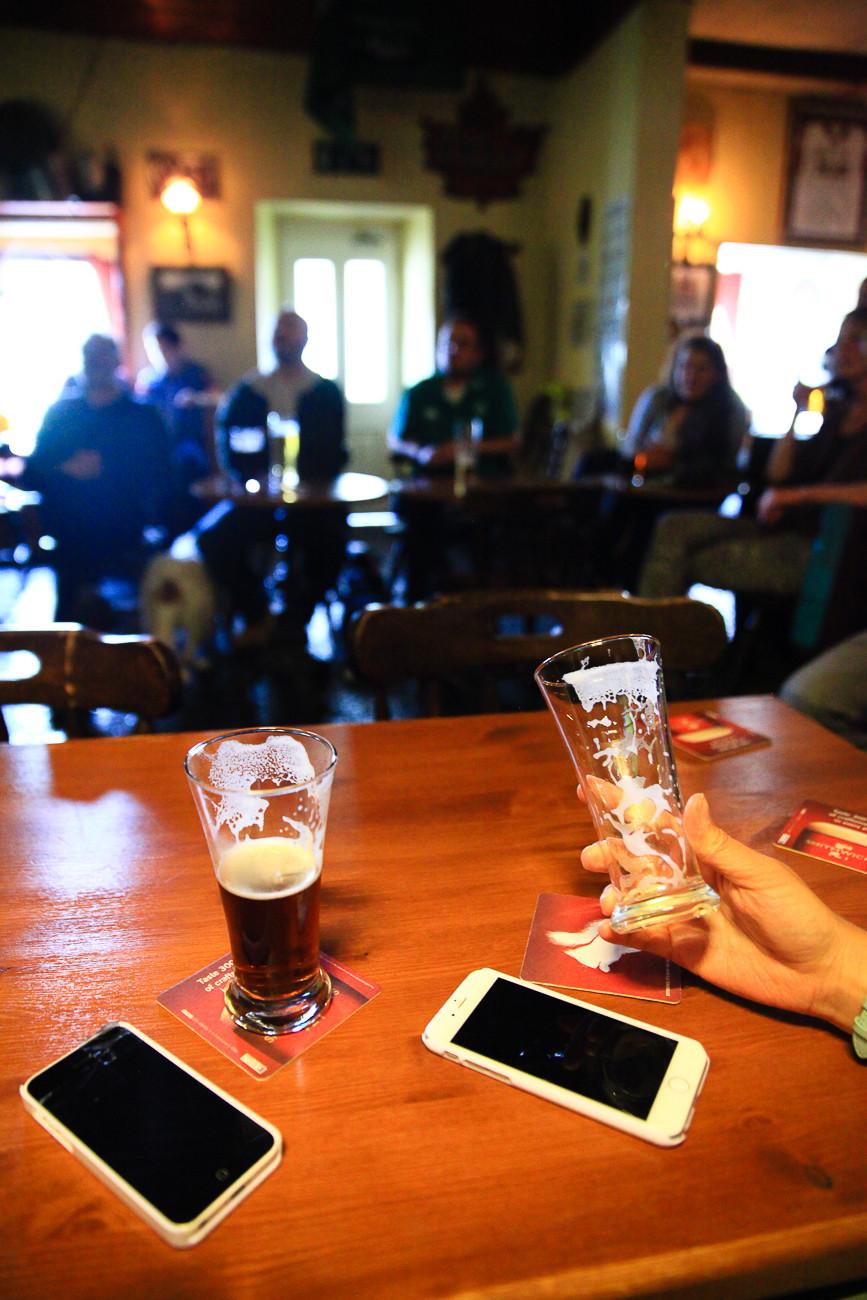 pub, Connemara, Irlande