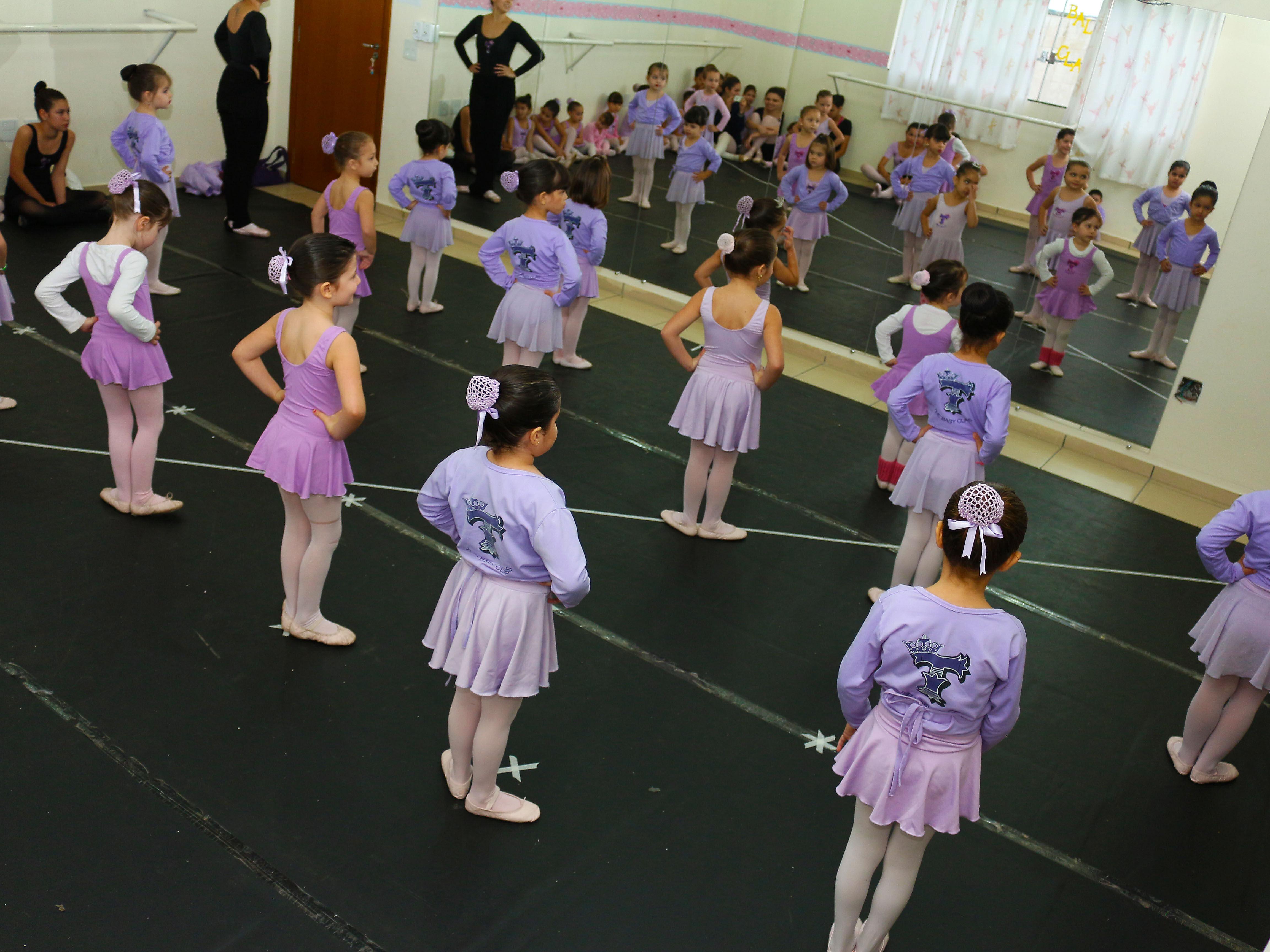 Ensaio Geral para 2o Mostra de Dança