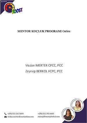 001-BOOST Mentor Koçluk Programı Tanıtım
